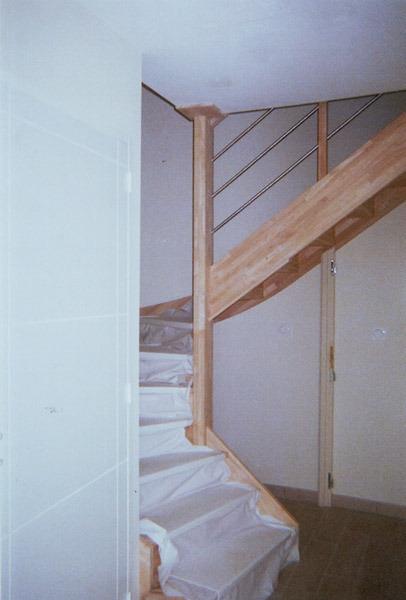 pose escalier varades colima on olivier p an. Black Bedroom Furniture Sets. Home Design Ideas